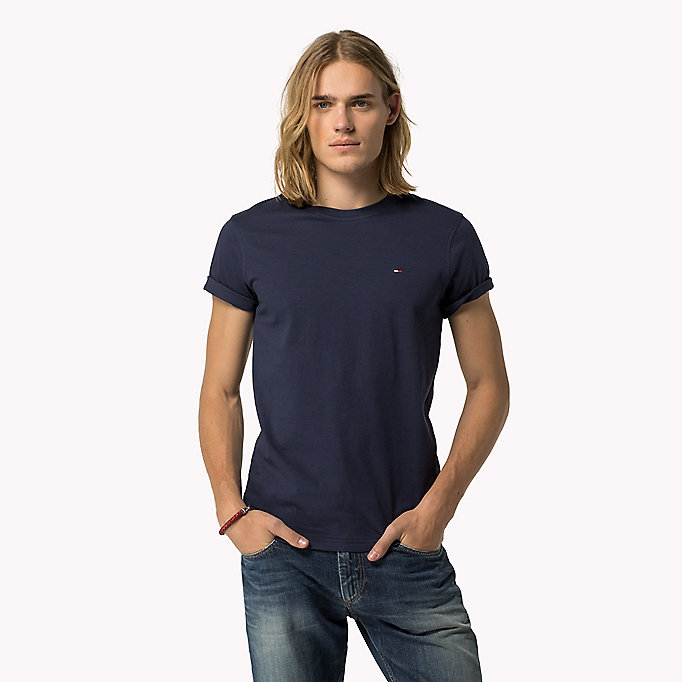 TOMMY JEANS Original - T-Shirt - TOMMY BLACK - TOMMY JEANS Kleidung - main image