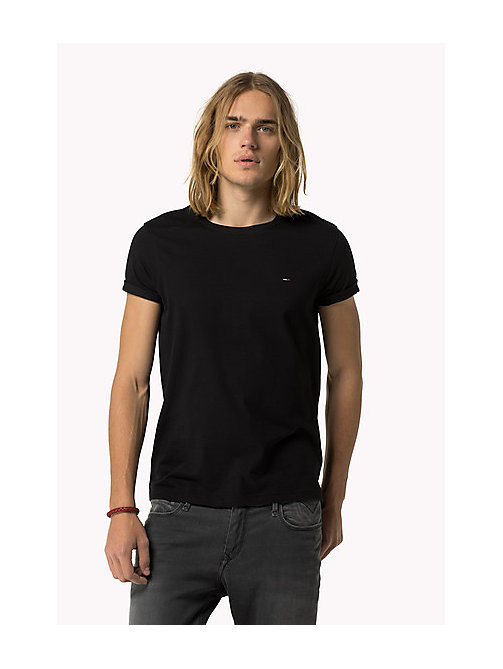 Original - T-shirt - TOMMY BLACK - TOMMY JEANS Vêtements - image principale