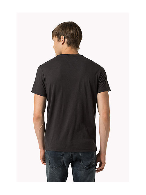 Original V-Neck T-shirt - TOMMY BLACK - TOMMY JEANS Clothing - detail image 1