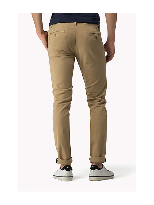 Slim Fit Chinos - KELP - TOMMY JEANS Men - detail image 1