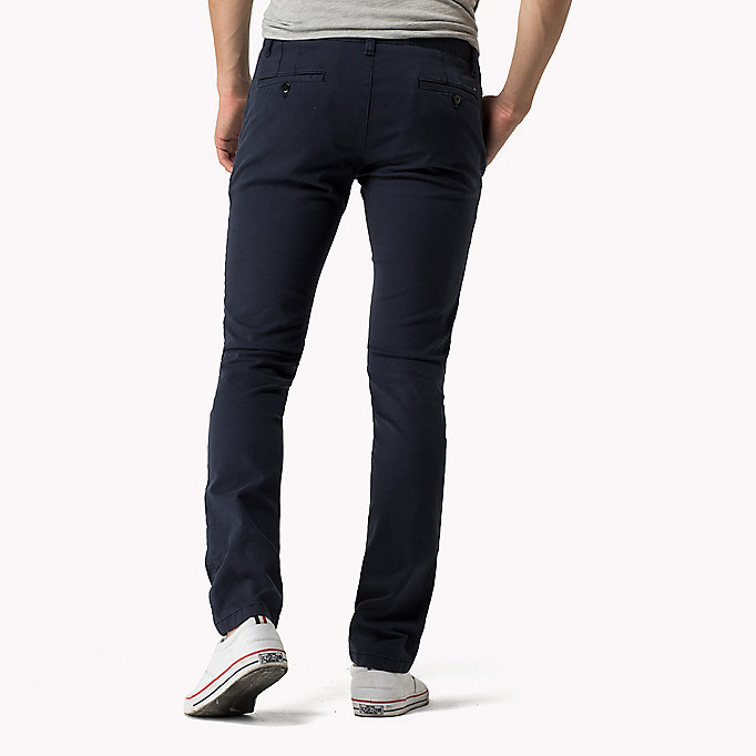 TOMMY JEANS Slim Fit Chinos - KELP - TOMMY JEANS Clothing - detail image 1