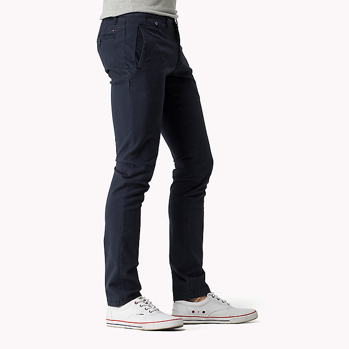 TOMMY JEANS Slim Fit Chinos - KELP - TOMMY JEANS Clothing - detail image 2