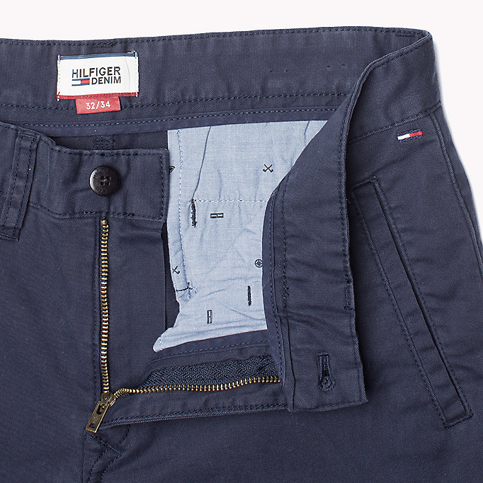 TOMMY JEANS Slim Fit Chinos - KELP - TOMMY JEANS Clothing - detail image 3