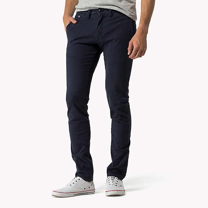TOMMY JEANS Slim Fit Chinos - KELP - TOMMY JEANS Clothing - main image