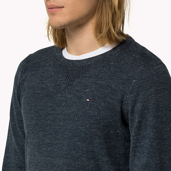 TOMMY JEANS Original Jumper - TOMMY BLACK - TOMMY JEANS Clothing - detail image 2