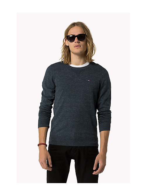 Original Jumper - BLACK IRIS - TOMMY JEANS Men - main image