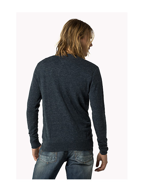 Original Jumper - BLACK IRIS - TOMMY JEANS Men - detail image 1