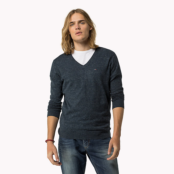 TOMMY JEANS Original Jumper - TOMMY BLACK - TOMMY JEANS Clothing - main image