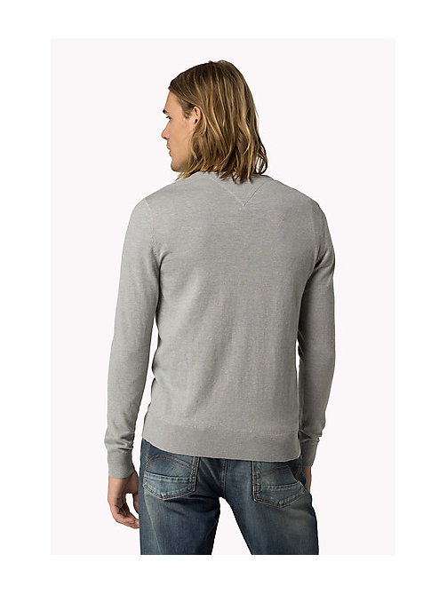 TOMMY JEANS Original - Pullover - LT GREY HTR - TOMMY JEANS Clothing - main image 1