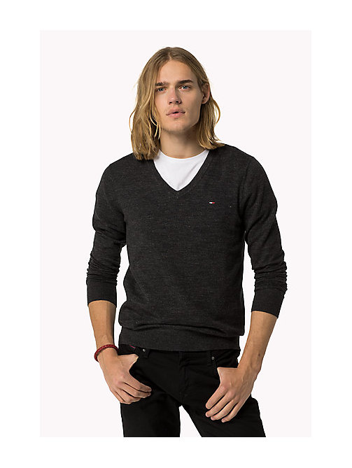 Original Jumper - TOMMY BLACK - TOMMY JEANS Clothing - main image