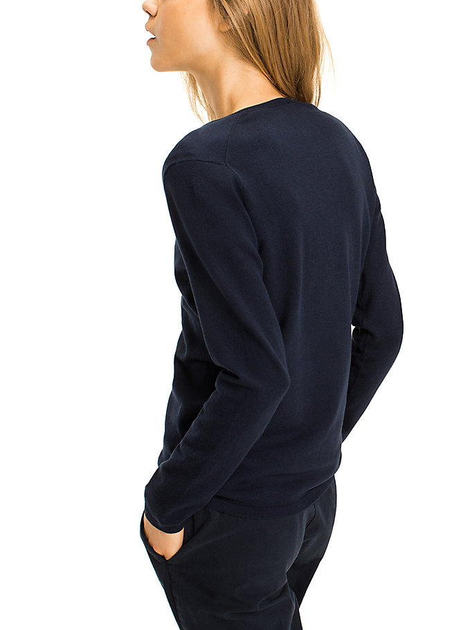 TOMMY HILFIGER Ivy Jumper - MIDNIGHT - TOMMY HILFIGER Clothing - detail image 1
