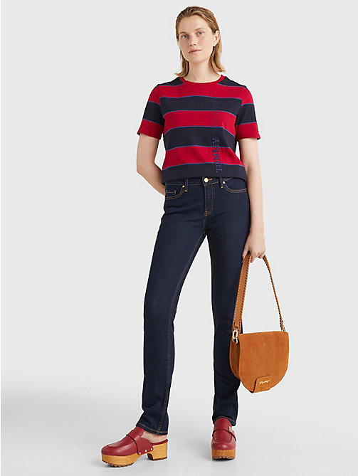 TOMMY HILFIGER Heritage Straight Leg Jeans - CHRISSY - TOMMY HILFIGER Straight-Fit Jeans - detail image 1