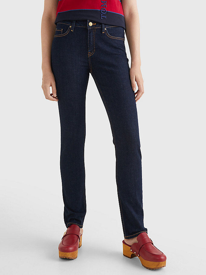 denim rome heritage straight leg jeans for women tommy hilfiger