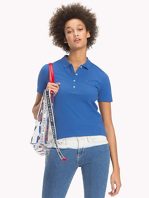 TOMMY HILFIGER Classic Polo Shirt - BRIGHT COBALT - TOMMY HILFIGER Polo Shirts - main image