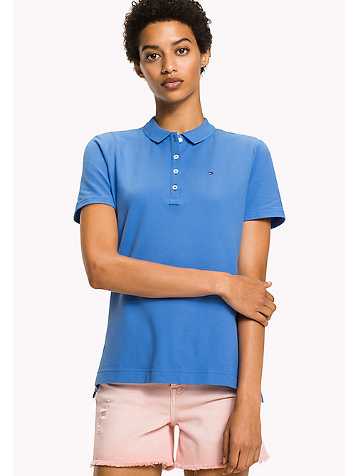 TOMMY HILFIGER Classic Polo Shirt - REGATTA -  Clothing - main image