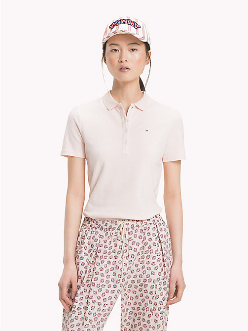 TOMMY HILFIGER Klassisches Poloshirt - SILVER PEONY - TOMMY HILFIGER Urlaubs-Styles - main image