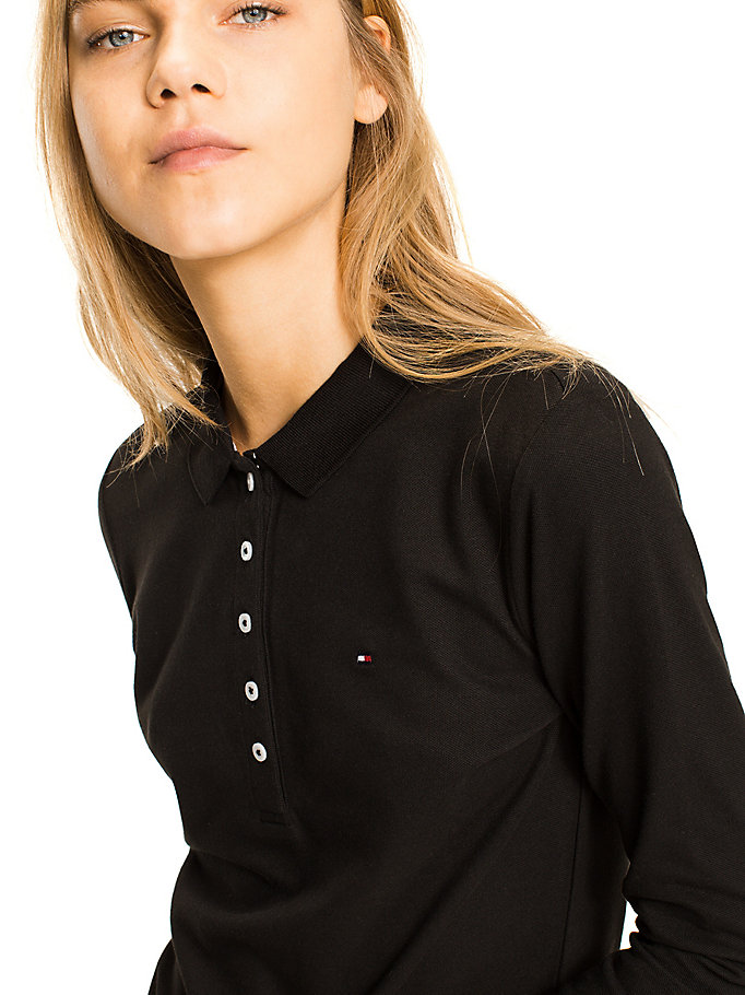 TOMMY HILFIGER Chiara Polo - CLASSIC WHITE - TOMMY HILFIGER Clothing - detail image 2