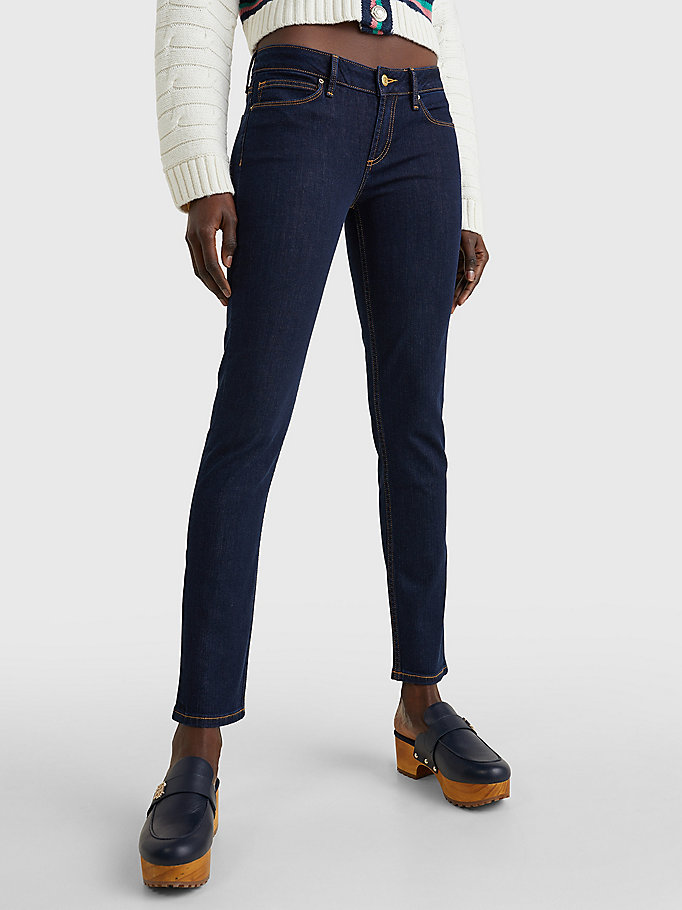 denim milan heritage organic cotton jeans for women tommy hilfiger