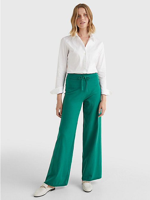 TOMMY HILFIGER Stretch Cotton Shirt - CLASSIC WHITE - TOMMY HILFIGER Basics - detail image 1