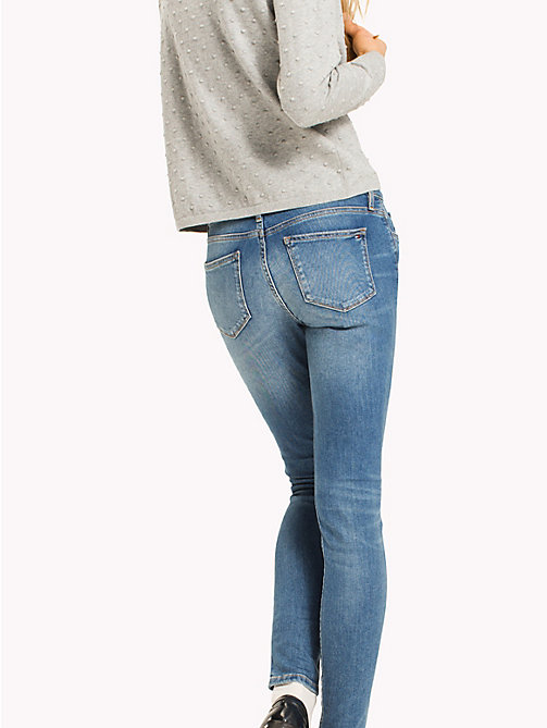 TOMMY HILFIGER Skinny Fit Organic Cotton Jeans - SARAH - TOMMY HILFIGER Skinny Jeans - detail image 1