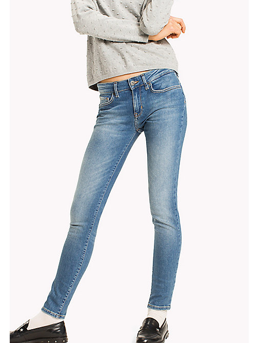 TOMMY HILFIGER Skinny Fit Organic Cotton Jeans - SARAH - TOMMY HILFIGER Jeans - main image