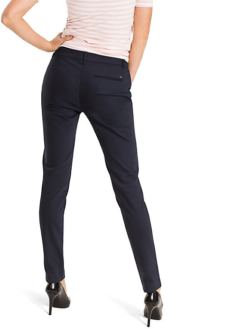 TOMMY HILFIGER Marta Trousers - NIGHT SKY - TOMMY HILFIGER Trousers - detail image 1