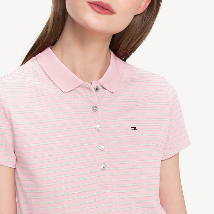 TOMMY HILFIGER Slim Fit Polo - EVENTIDE - TOMMY HILFIGER Women - detail image 2