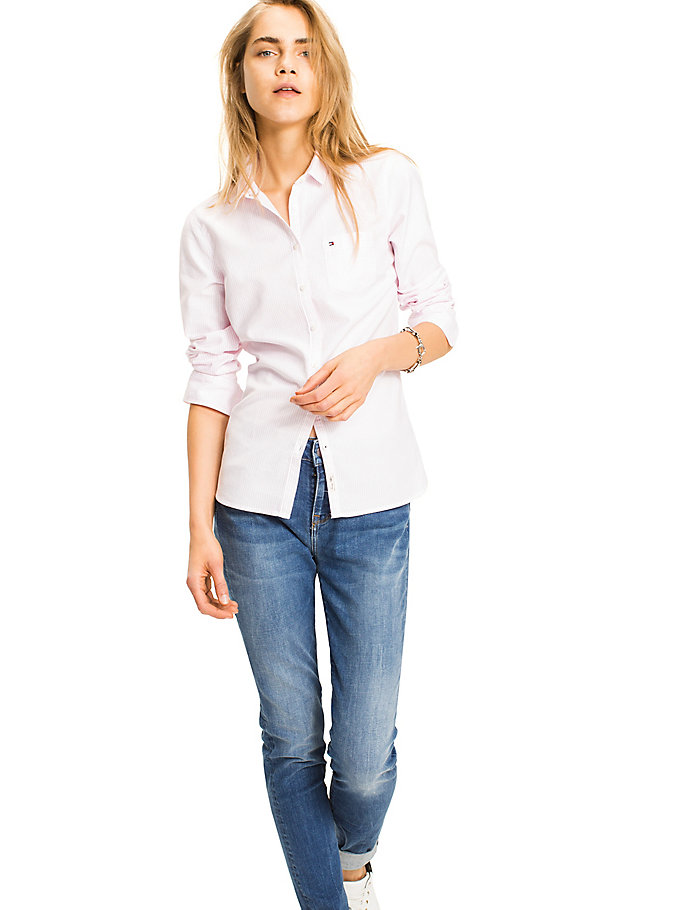 TOMMY HILFIGER Sithaca - Camisa - SHIRT BLUE/ CLASSIC WHITE STRIPE - TOMMY HILFIGER Mujer - imagen principal