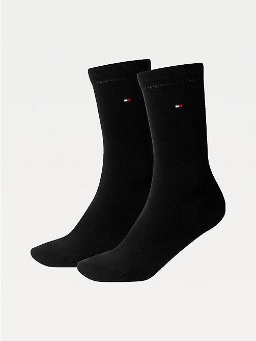 TOMMY HILFIGER 2 Pack Casual Socks - BLACK - TOMMY HILFIGER Socks & Hosiery - main image