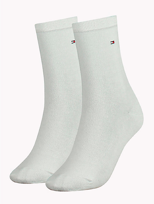 TOMMY HILFIGER 2 Pack Casual Socks - WHITE - TOMMY HILFIGER Socks & Hosiery - main image