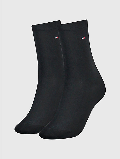 TOMMY HILFIGER 2-Pack Women's Socks - MIDNIGHT BLUE - TOMMY HILFIGER Socks & Hosiery - main image