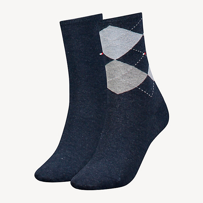TOMMY HILFIGER 2-Pack Socks - MIDNIGHT BLUE - TOMMY HILFIGER Women - main image