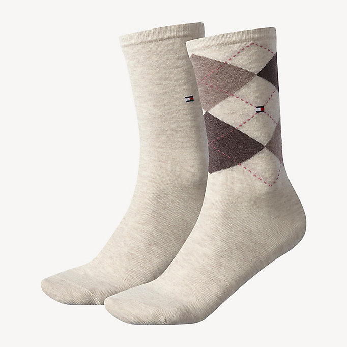 TOMMY HILFIGER 2-Pack Socks - MIDDLE GREY MELANGE - TOMMY HILFIGER Women - main image