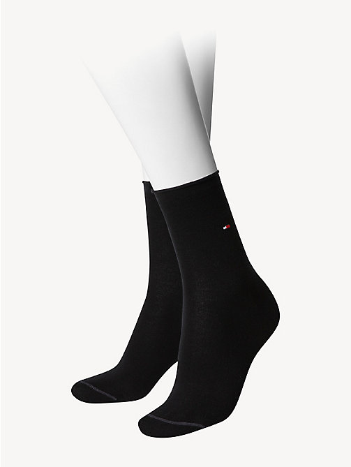TOMMY HILFIGER Cotton Socks - BLACK - TOMMY HILFIGER Socks & Hosiery - main image