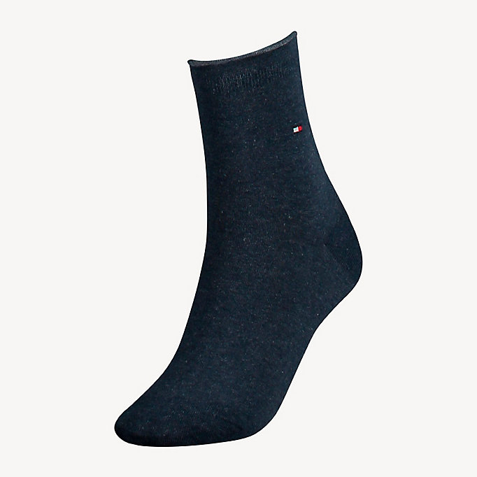 TOMMY HILFIGER Cotton Socks - MIDNIGHT BLUE - TOMMY HILFIGER Women - main image
