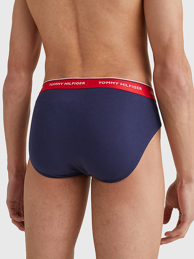 TOMMY HILFIGER 3 Pack Branded Cotton Knickers - WHITE - TOMMY HILFIGER Men - detail image 3