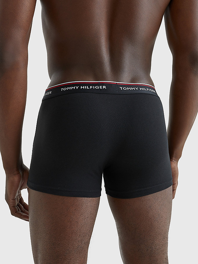 TOMMY HILFIGER 3-Pack Cotton Trunks - WHITE - TOMMY HILFIGER Men - detail image 3