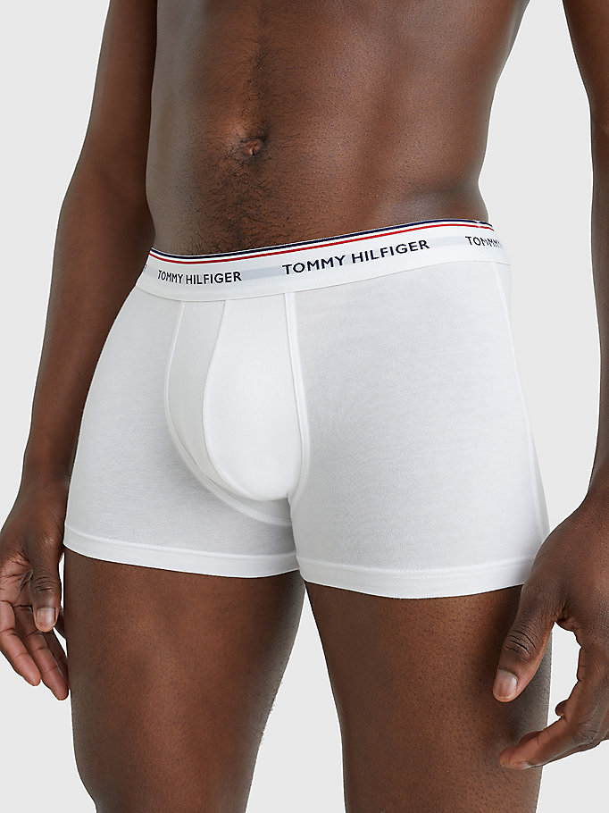 TOMMY HILFIGER 3-Pack Cotton Trunks - WHITE - TOMMY HILFIGER Men - detail image 5