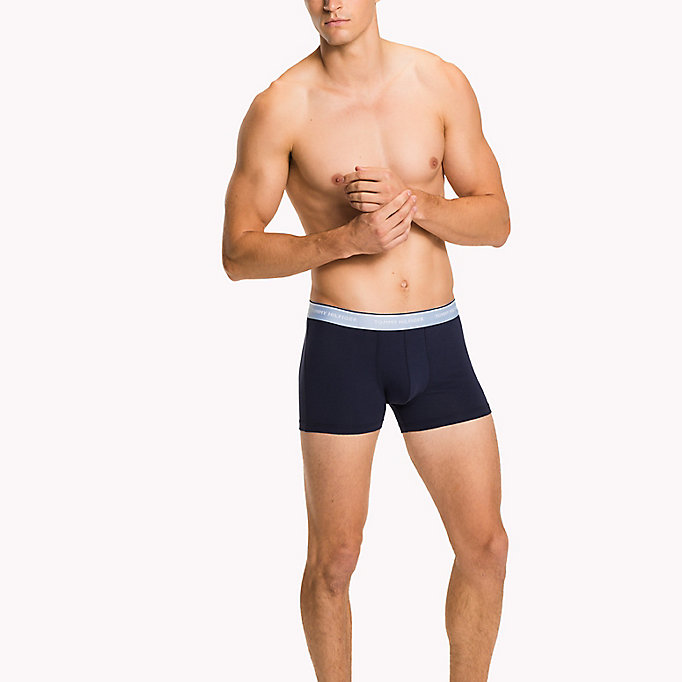 TOMMY HILFIGER 3-Pack Cotton Trunks - MULTI / PEACOAT - TOMMY HILFIGER Men - detail image 2