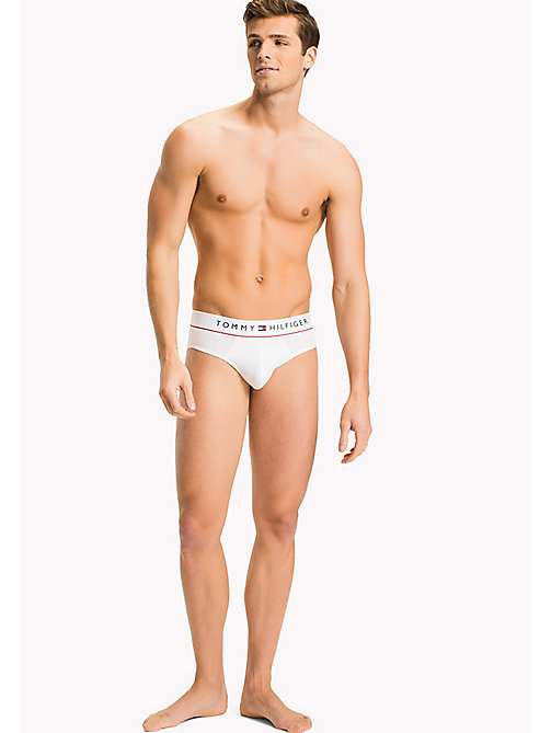 TOMMY HILFIGER Flex Briefs - CLASSIC WHITE - TOMMY HILFIGER Clothing - main image