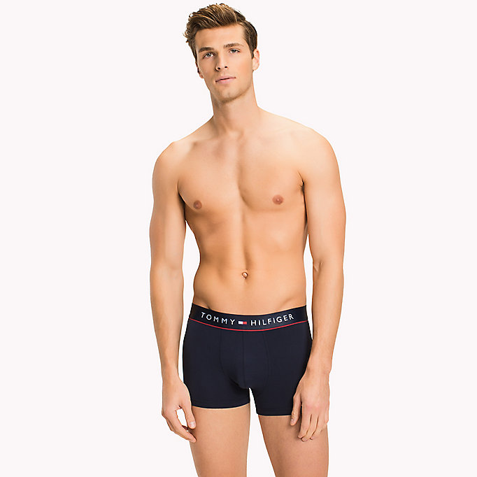 TOMMY HILFIGER Flex Trunks - BLACK - TOMMY HILFIGER Clothing - main image