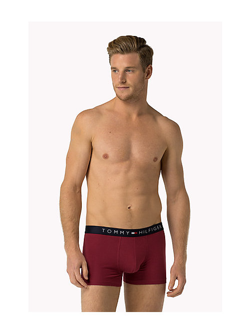 TOMMY HILFIGER Icon Trunks - RUMBA RED - TOMMY HILFIGER Trunks - main image