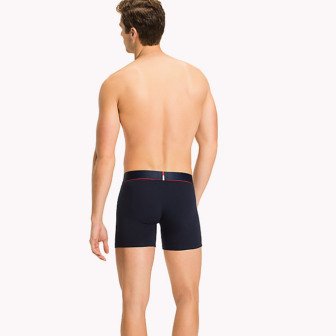 TOMMY HILFIGER Flex Boxers - BLACK - TOMMY HILFIGER Clothing - detail image 1