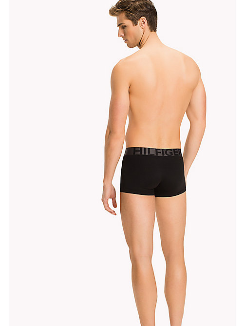 TOMMY HILFIGER Microfiber Trunks - BLACK - TOMMY HILFIGER Clothing - detail image 1