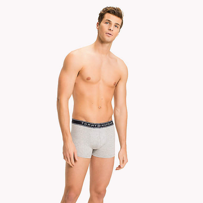 TOMMY HILFIGER Cotton Trunks - WHITE - TOMMY HILFIGER Men - main image
