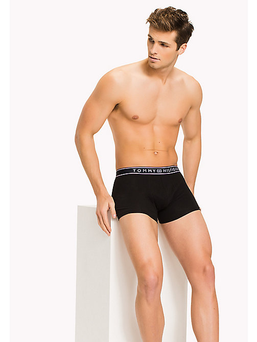 TOMMY HILFIGER Signature Stripe Trunks - BLACK - TOMMY HILFIGER Trunks - main image
