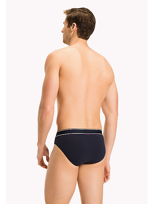 TOMMY HILFIGER Cotton Briefs - NAVY BLAZER-PT - TOMMY HILFIGER Briefs - detail image 1