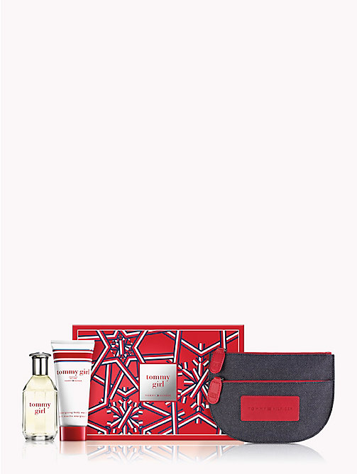 TOMMY HILFIGER Tommy Girl Favorite Things Holiday Set - RED - TOMMY HILFIGER Stocking Stuffers - main image