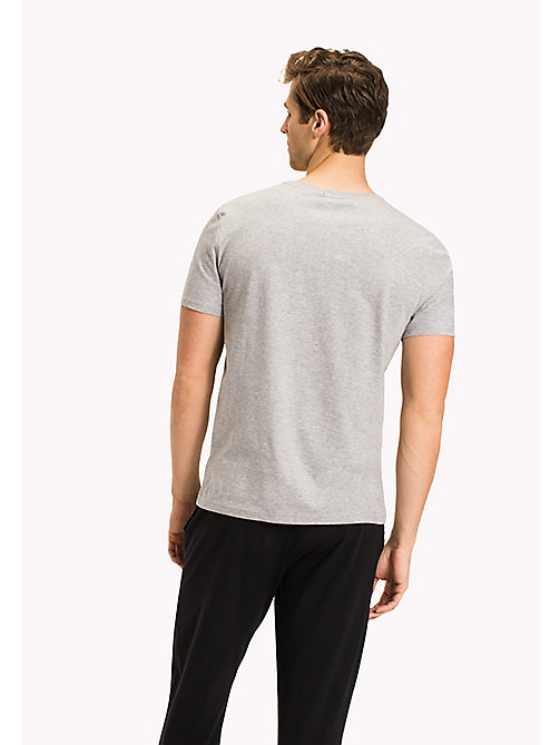 TOMMY HILFIGER Icon - T-Shirt - GREY HEATHER - TOMMY HILFIGER Loungewear & Nachtwäsche - main image 1