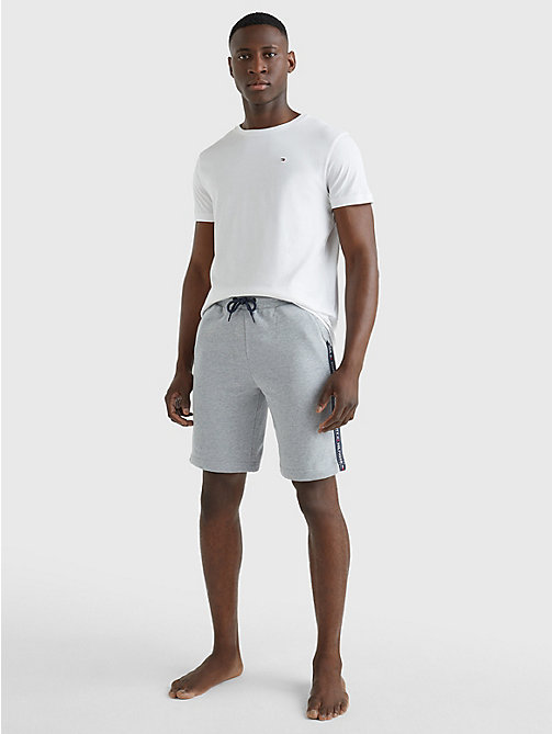 TOMMY HILFIGER Organic Cotton T-Shirt - CLASSIC WHITE - TOMMY HILFIGER Pyjama Tops - detail image 1